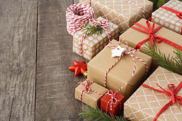 선물 상자, 장난감 및 장식 크리스마스 장식