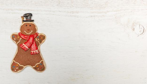 ジンジャーブレッド人とのクリスマスの装飾