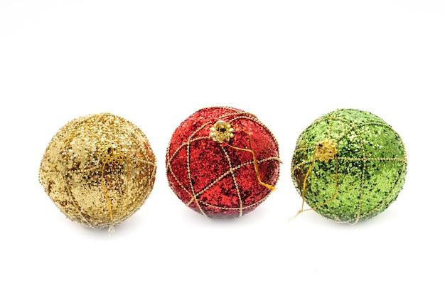 クリスマスの装飾的な地球儀