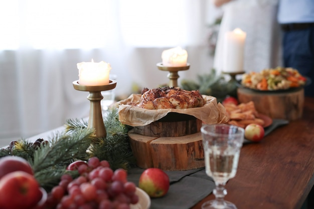 성탄절 저녁