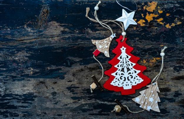 Christmas elements concept
