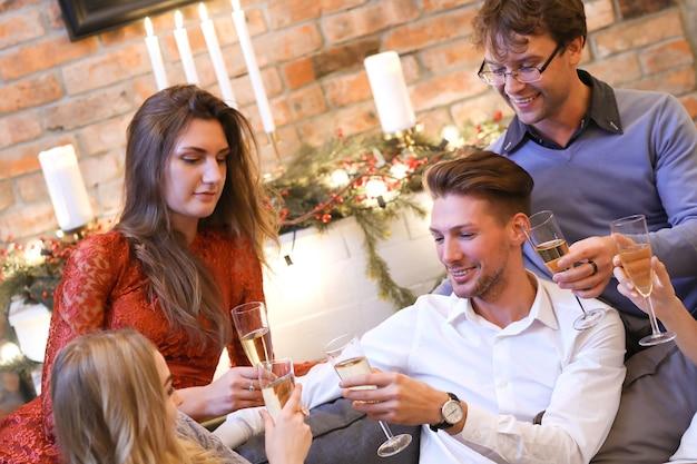 친구들과 함께하는 크리스마스 이브