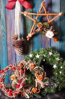 Рождественская ярмарка, большой выбор уютных украшений ручной работы