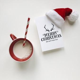 クリスマスフラットレイ
