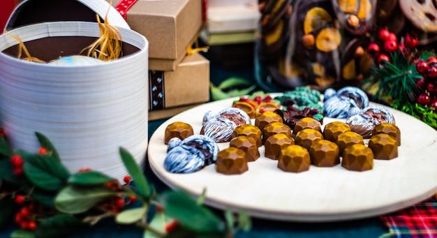 Christmas food concept