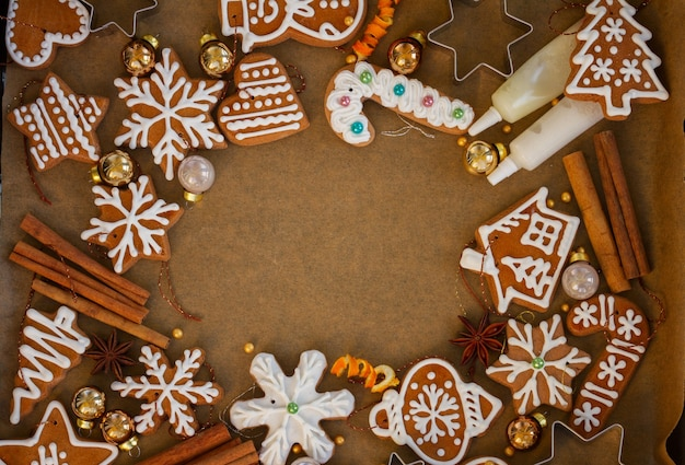 クリスマスジンジャーブレッドクッキー
