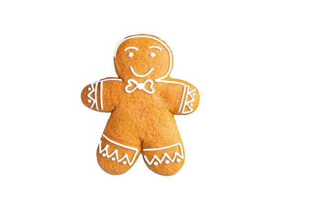 クリスマスジンジャーブレッド自家製クッキー甘いデザートギフト年賀状ペストリービスケット食品
