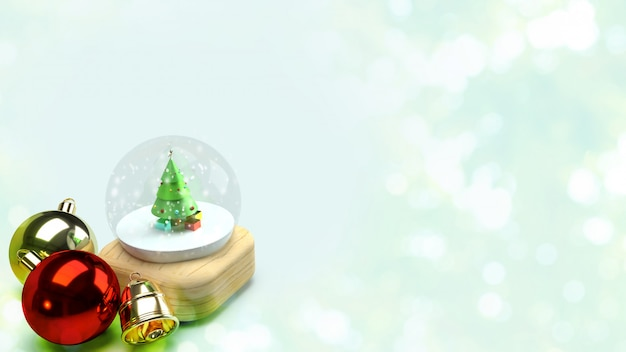 Christmas glass ball for celebration christmas