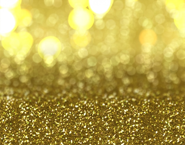 Christmas gold glitter background design