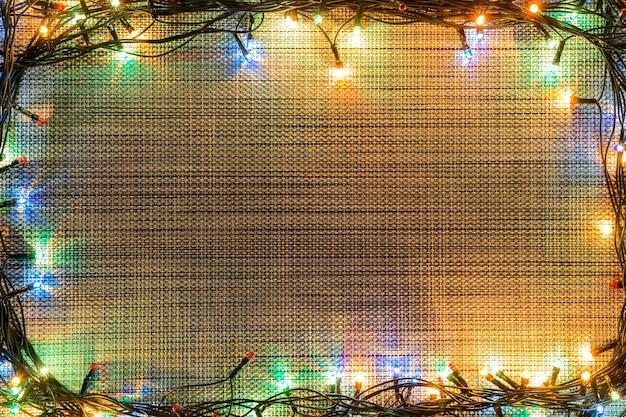 Рождественский серый фон с текстурой.