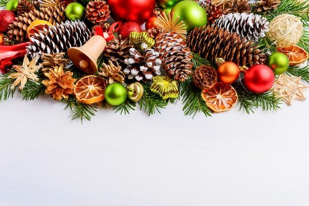 장식, 콘 및 징 글 벨 크리스마스 인사말 카드