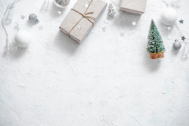 Christmas holidays background with copy space for your text.
