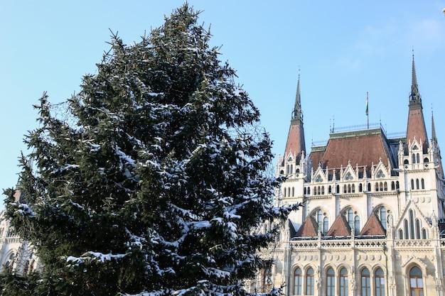 헝가리 부다페스트의 크리스마스 휴가