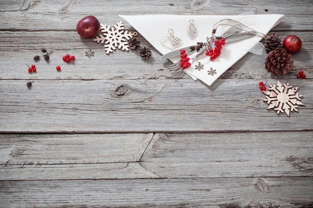 クリスマス休暇テーブル