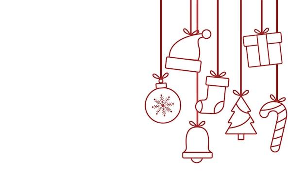 クリスマスアイコンの壁紙