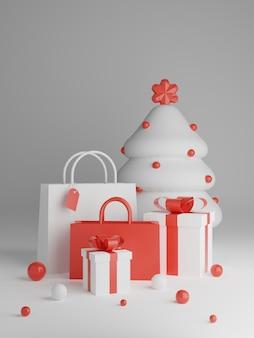 크리스마스 장식으로 크리스마스 초대 카드