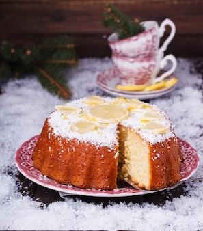 Christmas lemon pie.