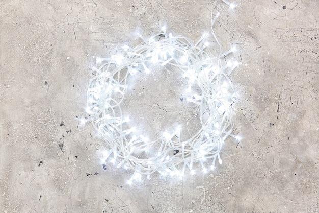 灰色のクリスマスライト