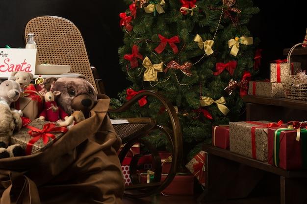 クリスマスリビングルーム