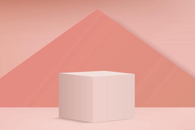 Christmas luxury marble cylinder podium background