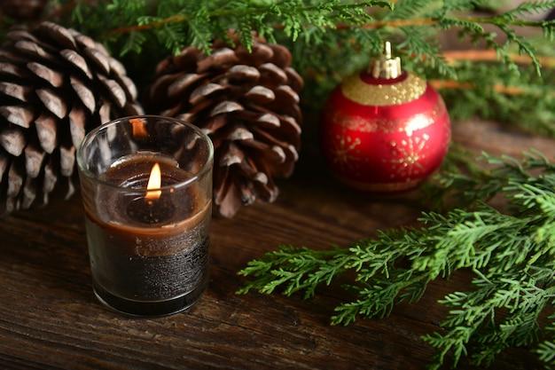 크리스마스 새 해 배경
