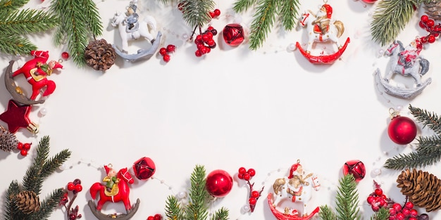 Christmas and new year holidays background .