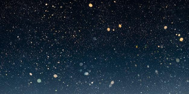 A christmas night sky