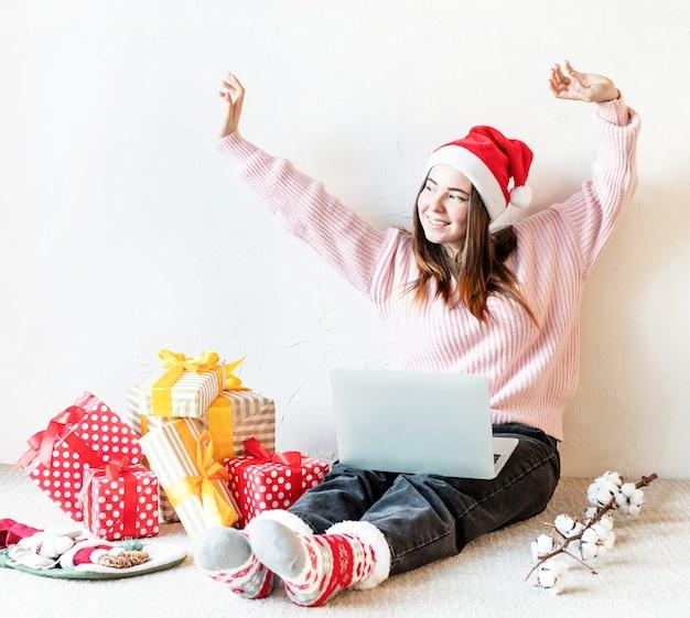 Рождественские покупки в интернете