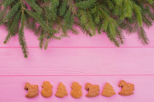クリスマスや新年の背景。
