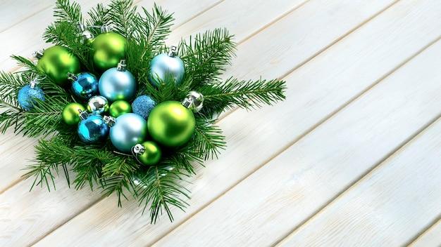 Рождественские украшения обеденного стола