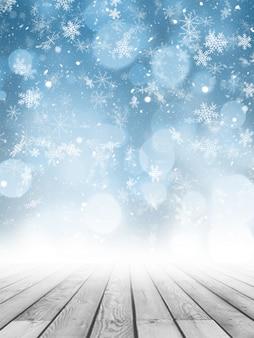 クリスマス写真の背景