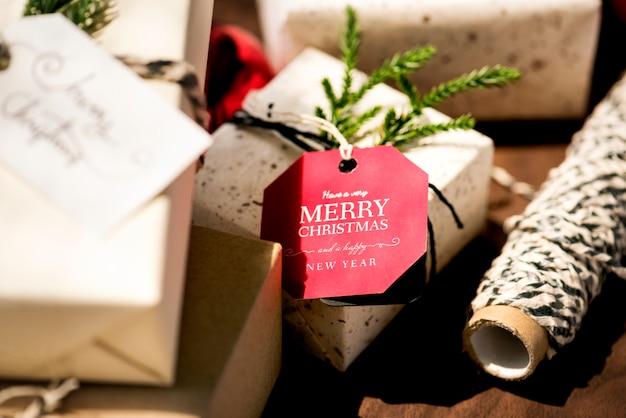 Christmas present boxes
