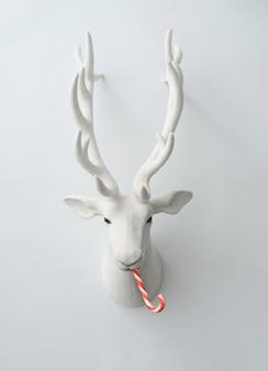크리스마스 사탕 크리스마스 순록 장식입니다.