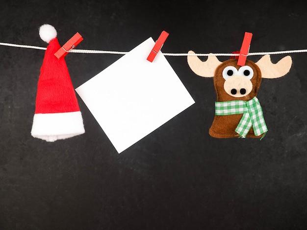 クリスマスのトナカイ、手作り