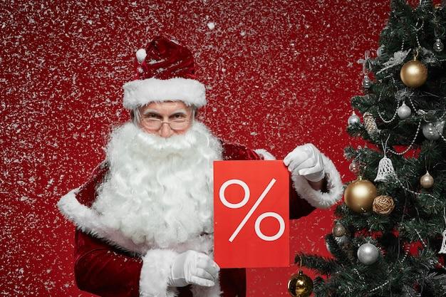 Новогодняя распродажа и счастливая покупка