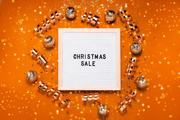 クリスマスセールレターボード