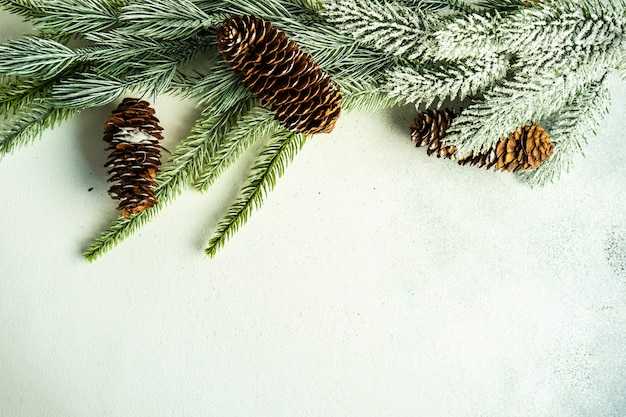 Christmas scene concept
