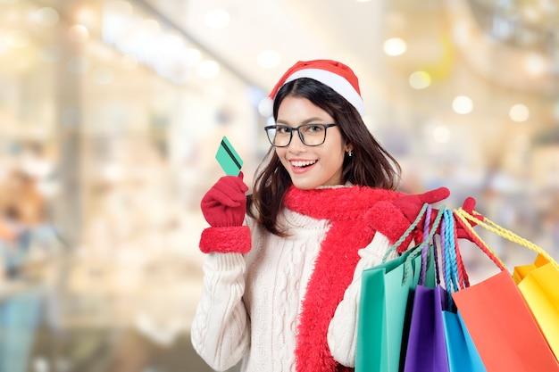 クリスマスショッピング。クリスマスセール