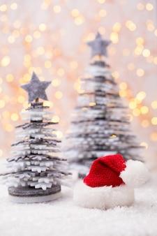 Рождественские сани с концепцией празднования праздника.