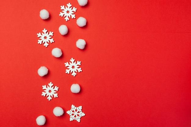 Christmas snowflakes Premium Photo