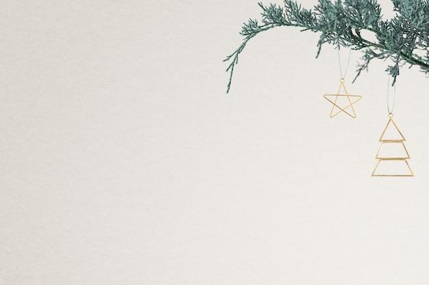 디자인 공간 크리스마스 소셜 미디어 배너 배경