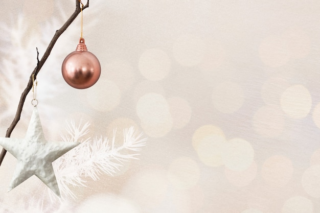 Christmas social media banner with design space