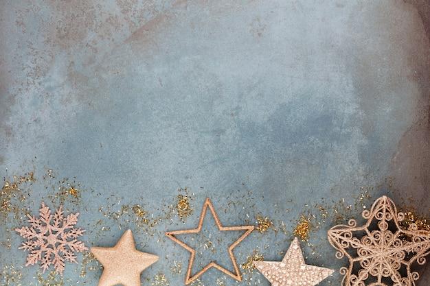 クリスマスの星の装飾
