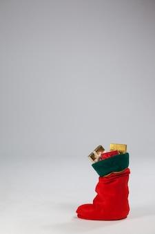 Christmas stocking full