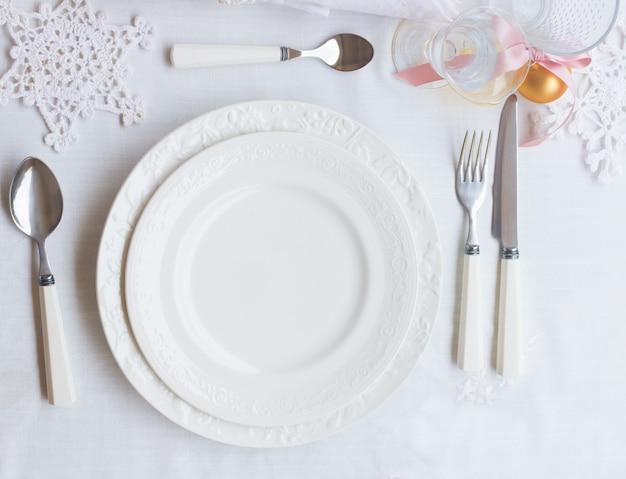 Рождественский набор посуды