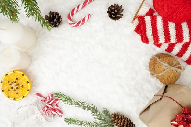 Рождество текстура рамка праздник