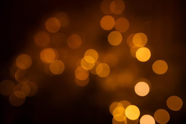 焦点がぼけたときのクリスマス