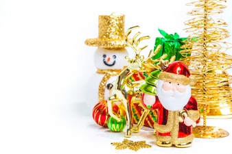 Christmas toy decoration or New Year concept and decorations