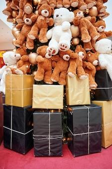 크리스마스 트리와 선물