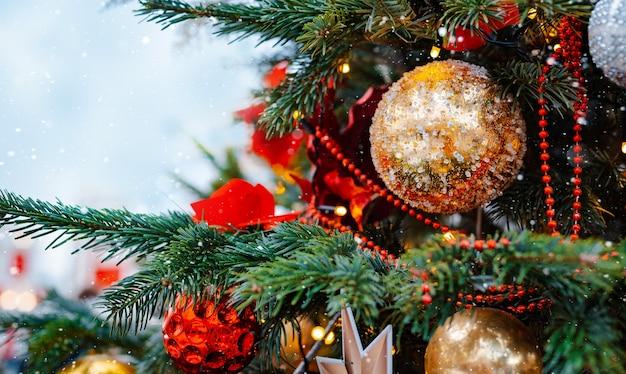 크리스마스 트리 배경